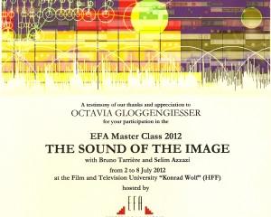 efa master class 2.-8. juli 2012